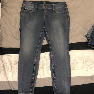 Torrid medium dark denim jeans size 16
